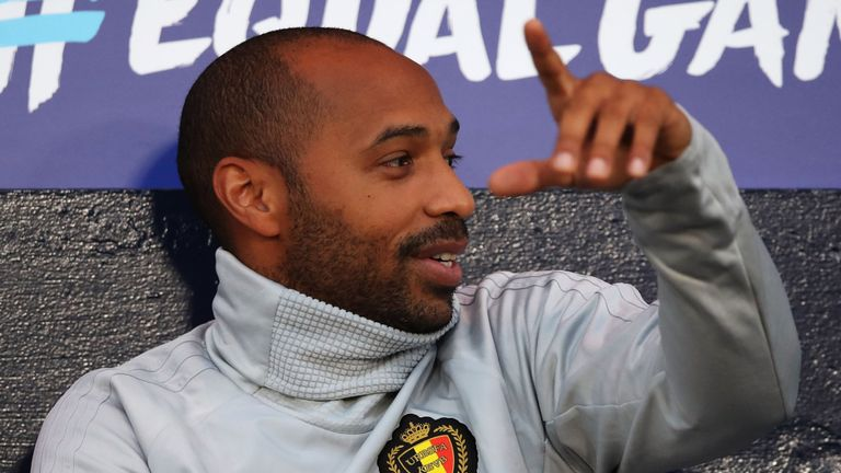Thierry Henry appointed Monaco head coach