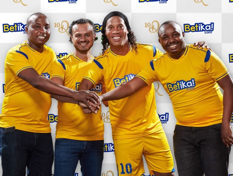 Football legend Ronaldinho to visit Kenya in November courtesy of Betika