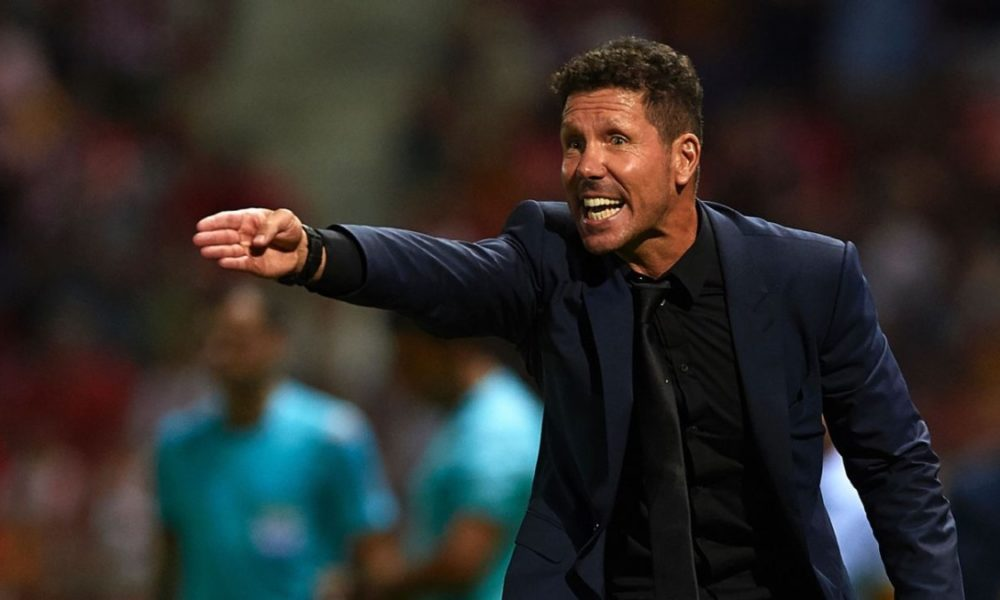 Simeone: We couldn't play as we wanted