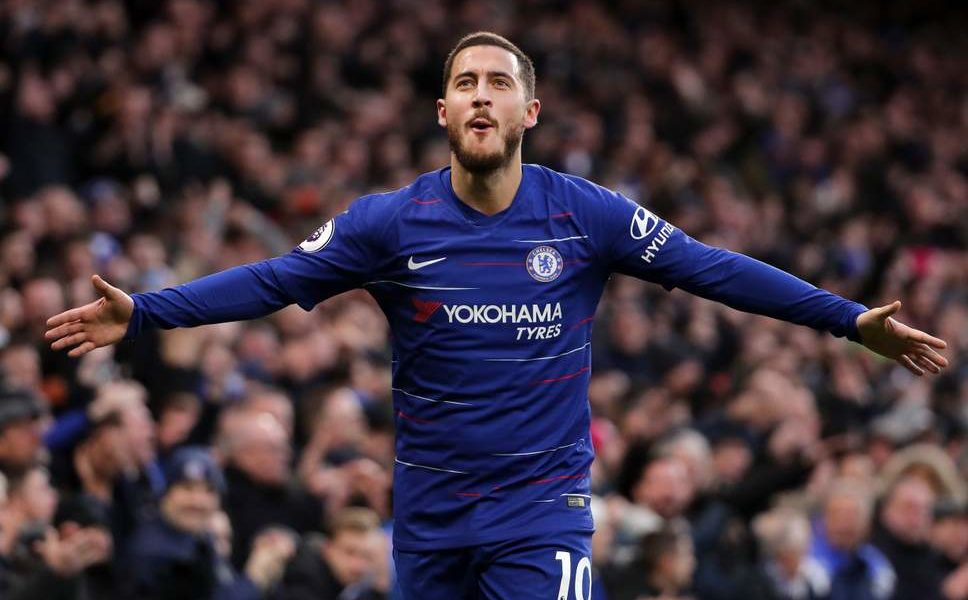 Hazard's brace helps Chelsea go third on table standing with 2-0 victory over West Ham