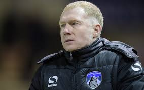 Former Manchester United midfielder Scholes resigns as Oldham manager citing frustrations