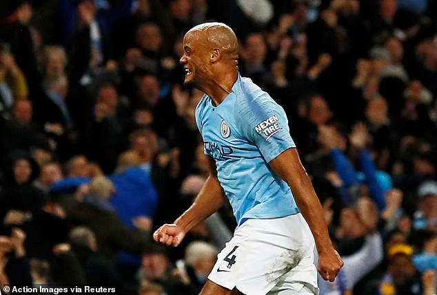 Kompany's thunderbolt leaves Liverpool fans on their knees praying for final day miracle
