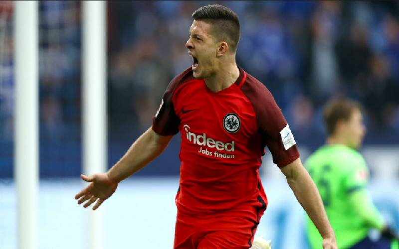 Manchester United, City join race to sign Frankfurt goal machine Jovic