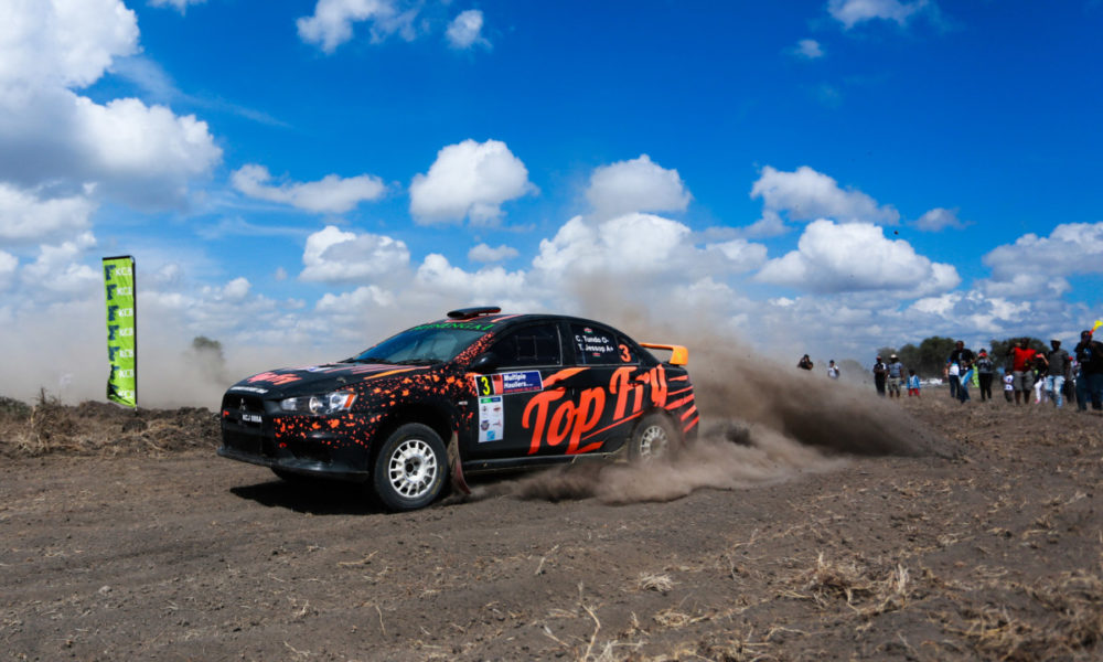 Six Kenyans in action as Gomes Zambia International Rally revs off