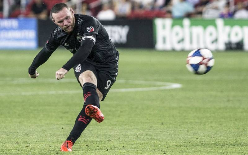 Rooney scores third career goal from his own half for DC United