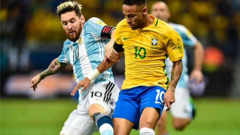 Messi, Neymar set records as Argentina, Brazil edge closer to World Cup