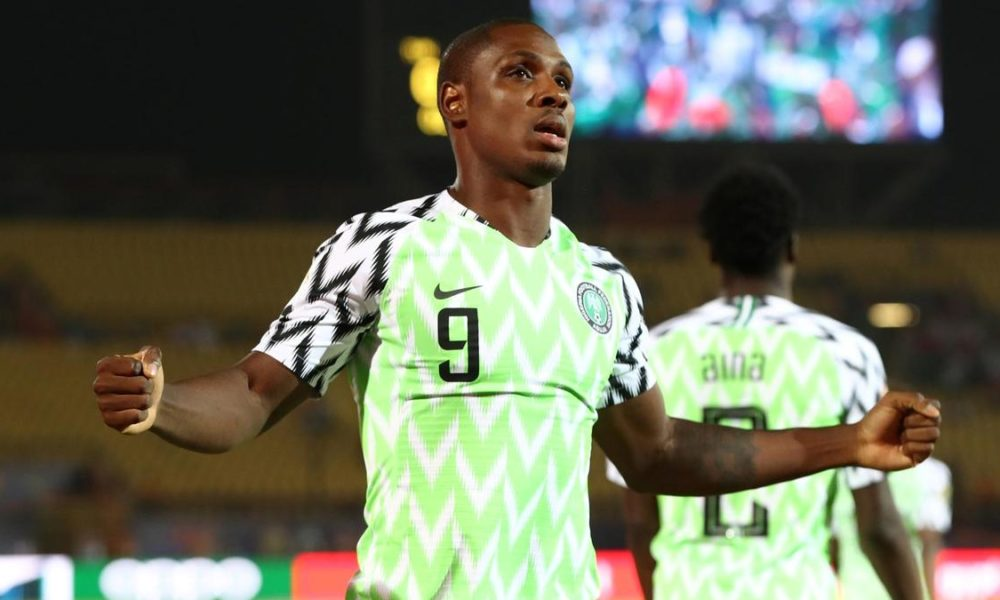 Odion Ighalo retires from international football after winning 2019 Afcon Golden Boot