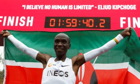 Marathon star Kipchoge signed as Kenya's tourism ambassador