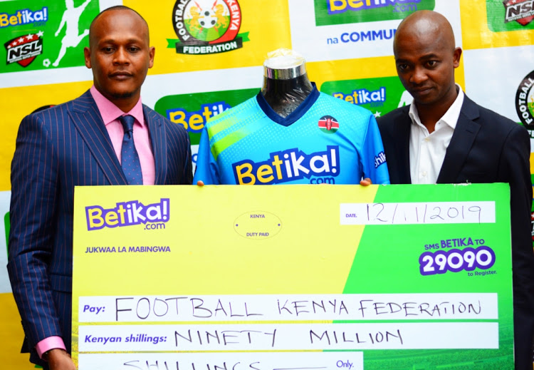 Breakthrough for NSL as Betika comes on board as title sponsor