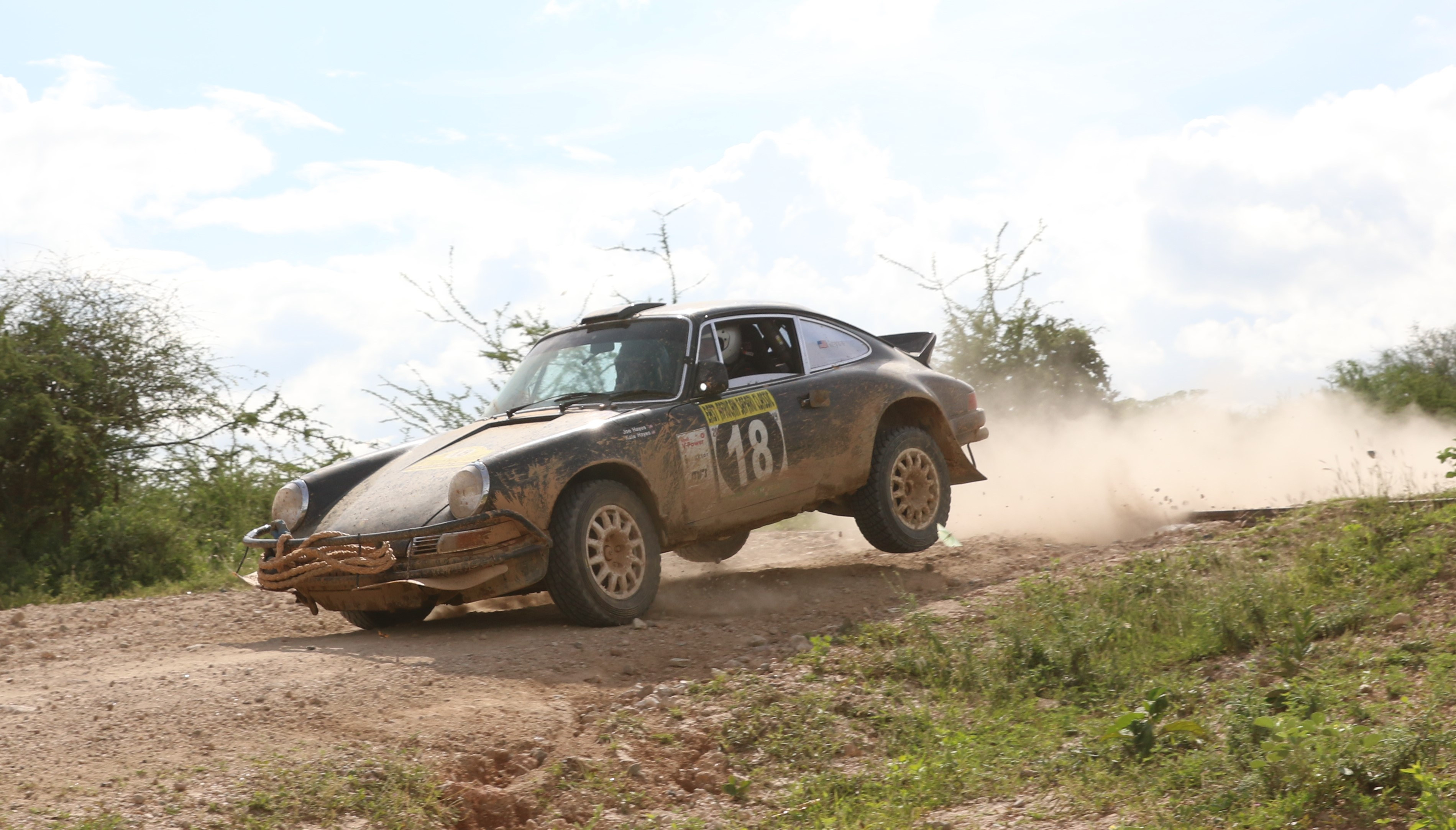 Kabras team dominates Day Six of East African Classic Safari Rally