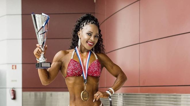 Bodybuilder Evelyn Owala faces top track stars in race for Soya women's prize