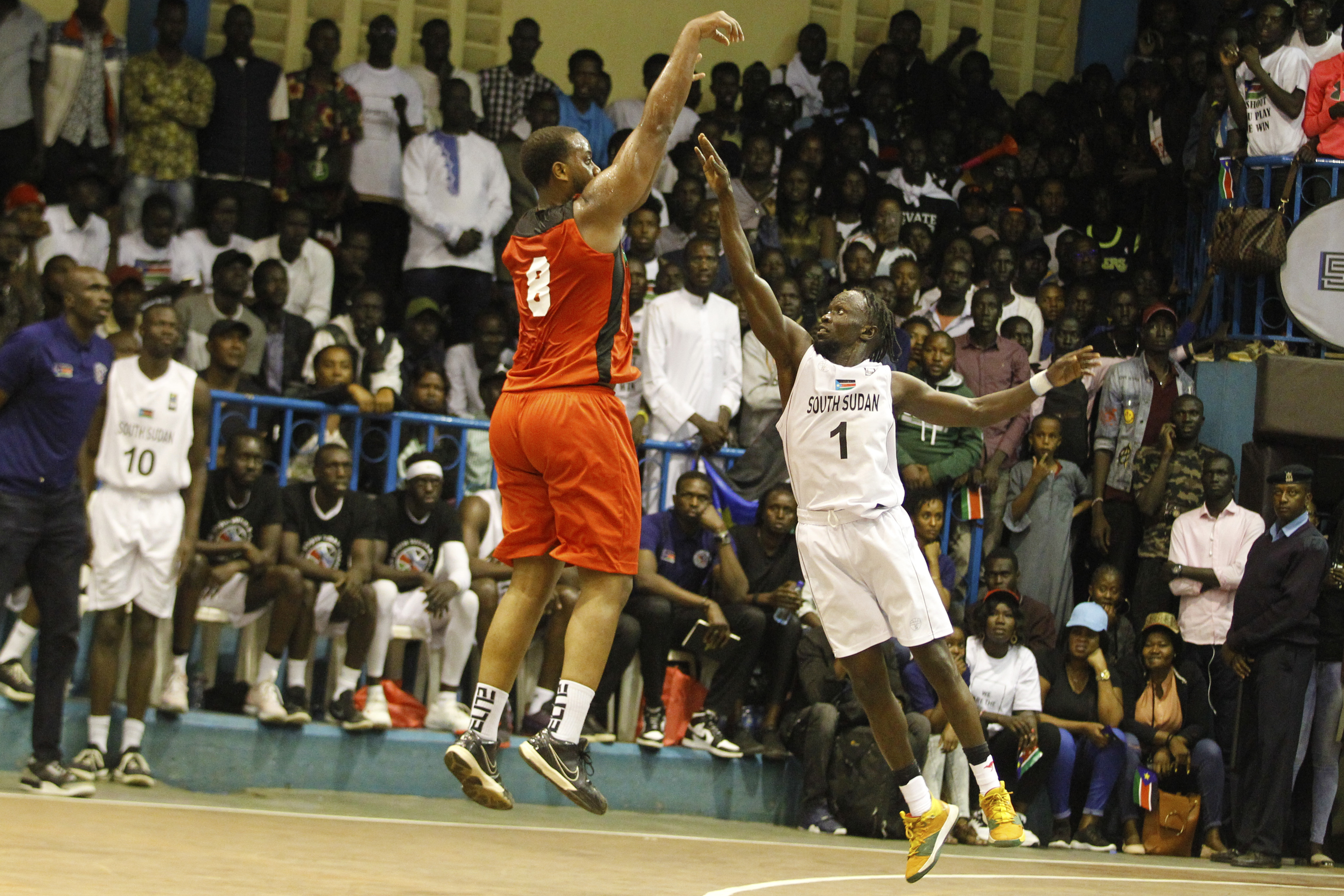 PHOTOS: Kenya Morans overcome South Sudan in 2021 Fiba Afro-basketball pre-qualifiers thriller