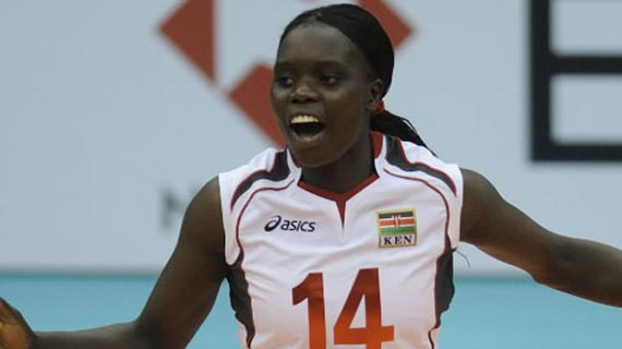 Kenya women volleyball captain eyes Tokyo Olympic glory