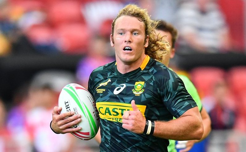 Blitzboks change three as Werner Kok to play his 50th HSBC World Rugby Sevens