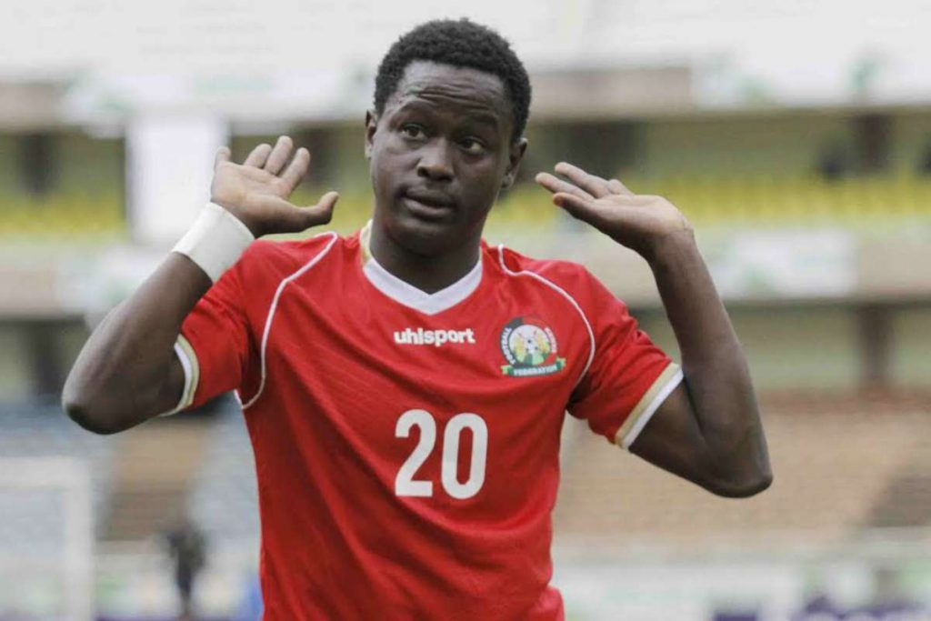 Kenya international Eric Ouma suffers injury setback
