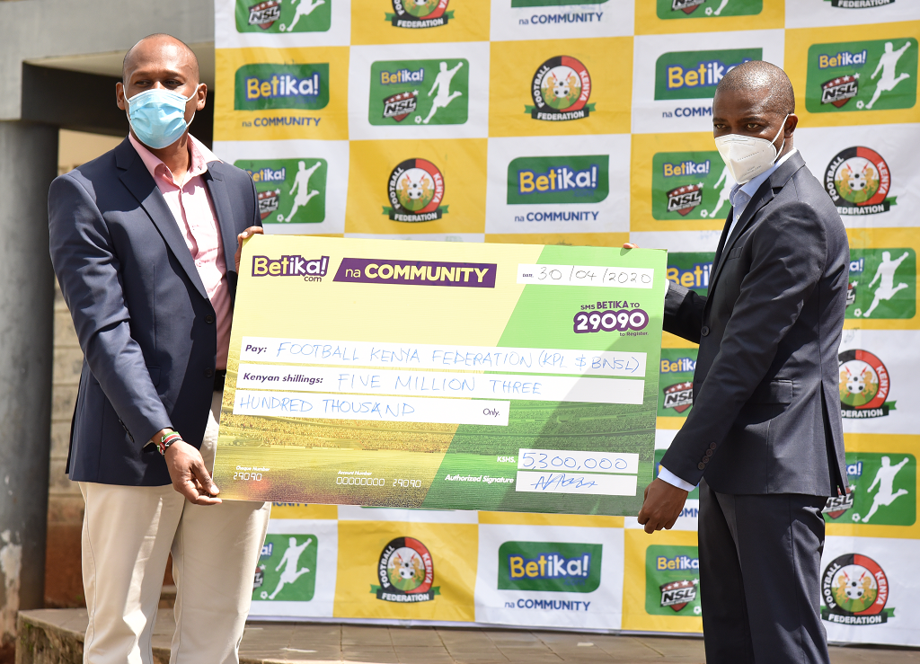 Betika raises stake with KSh27 million donation to fight effects of Covid-19