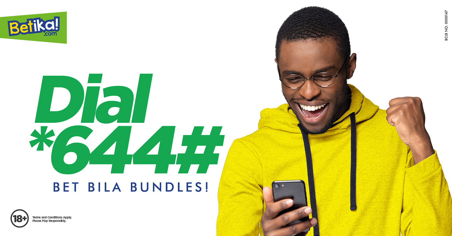 No internet bundles? No smartphone? You can still win big with Betika's offline betting option