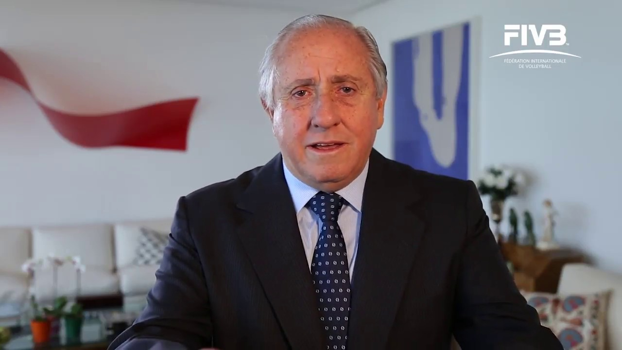 FIVB president launches video series on volleyball development