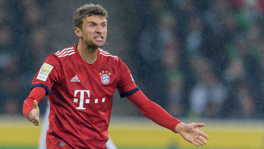Bayern's dominance flows into Mueller's Barca-goal-record