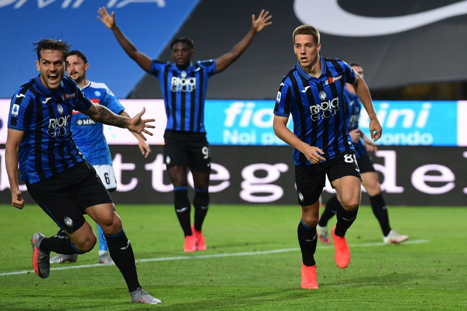 Atalanta manages first Serie A win over Juve in 20 years