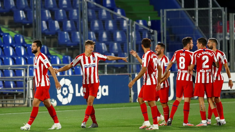 Top four all win in Spain as Atletico remain seven points clear
