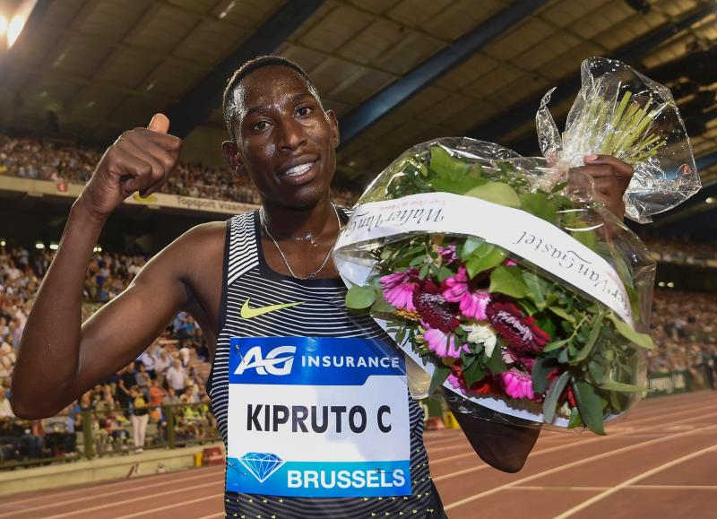 Conseslus Kipruto out of Diamond League after testing positive for Covid-19