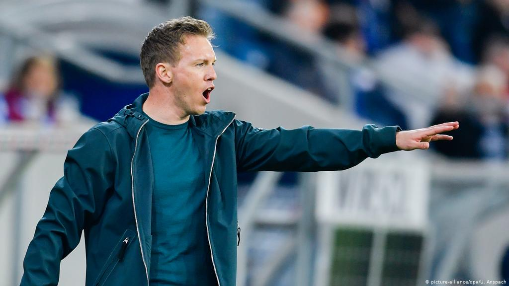 Painful lesson for Bayern's designated coach Nagelsmann