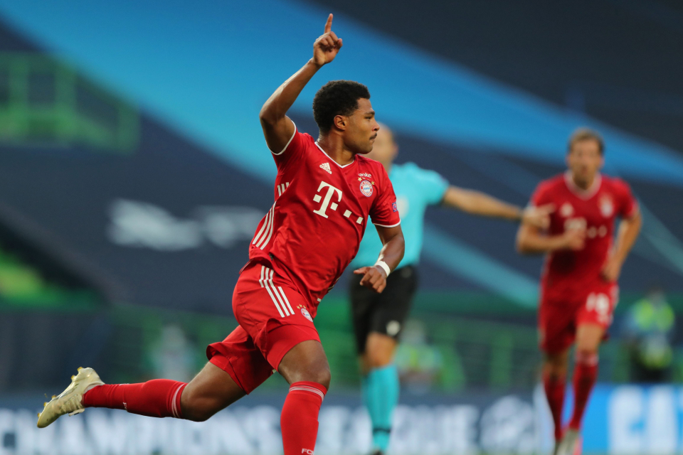 Bayern aiming to repeat 2020 treble, says winger Gnabry