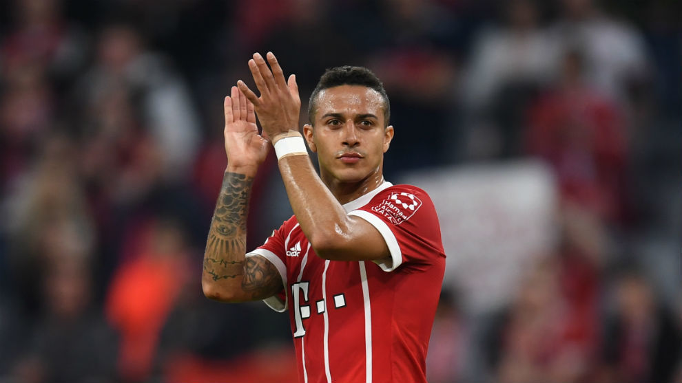 Feature: Bayern's Thiago ready for last hurrah