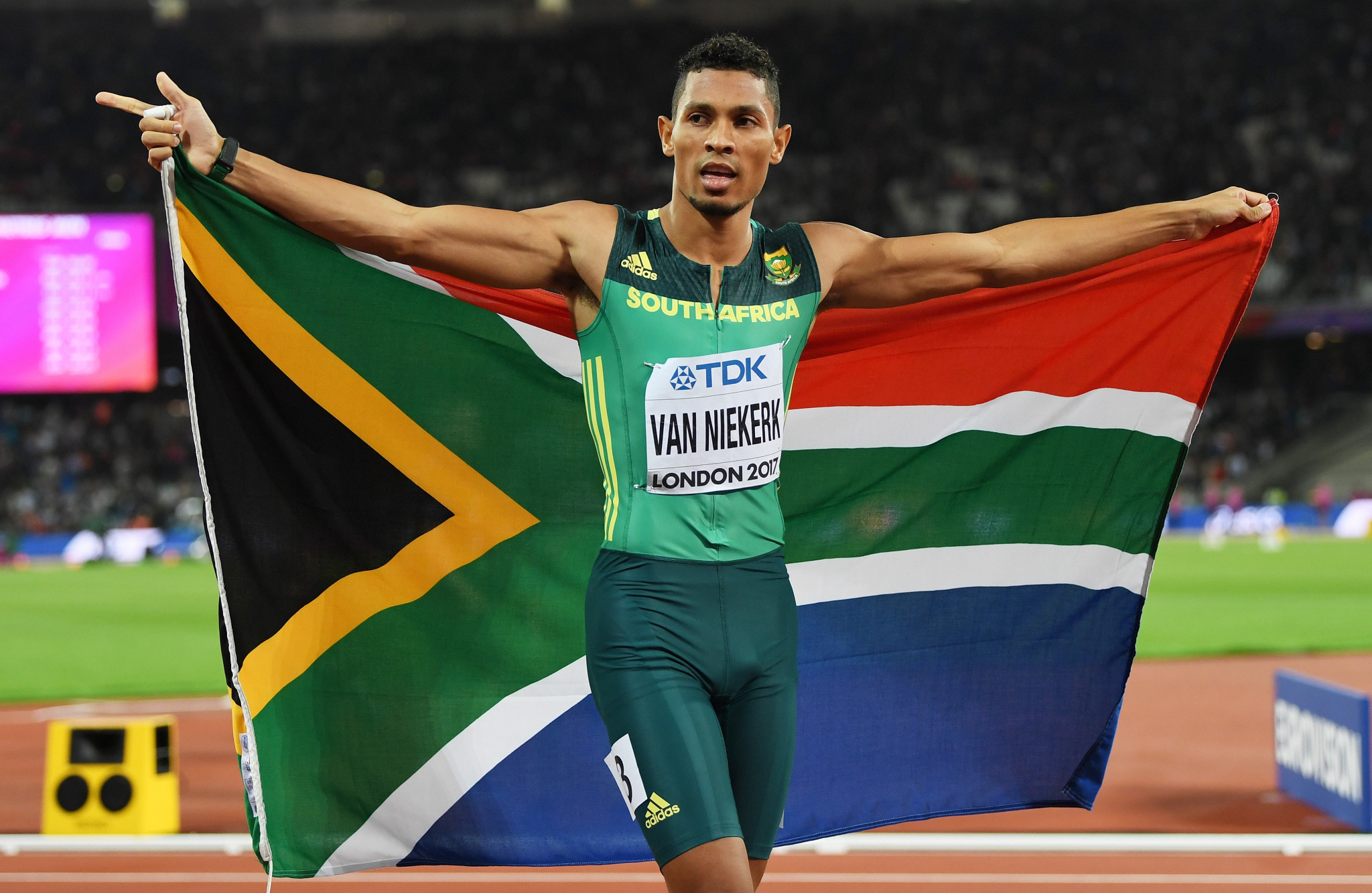 Olympic 400m champion Van Niekerk tests positive for COVID-19