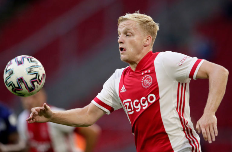 Man Utd sign Van de Beek from Ajax
