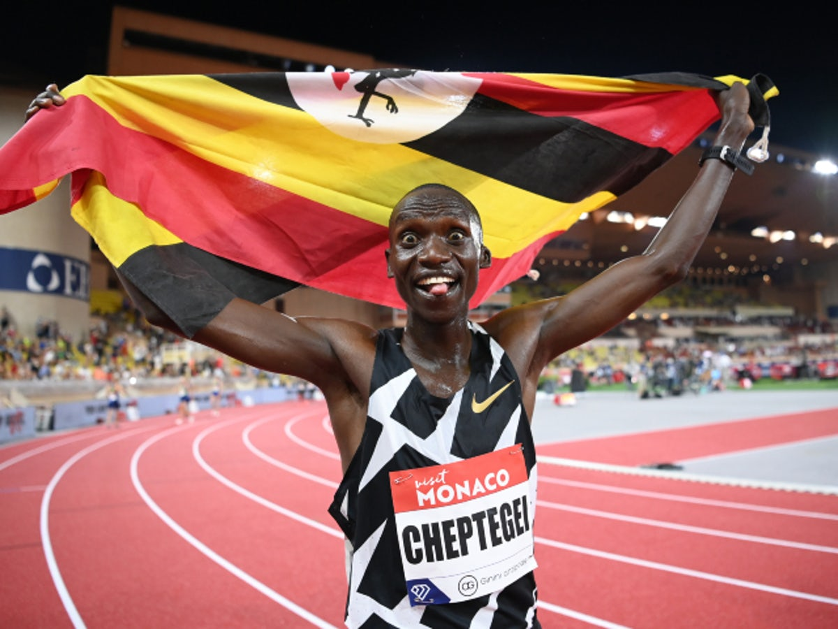 Cheptegei wins the 5000m to end his long wait for Olympic gold