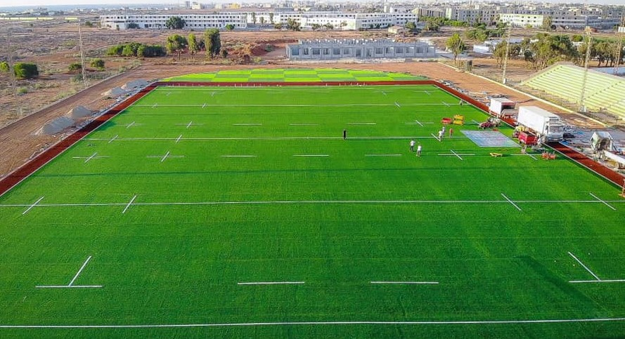 Libya unveils first state-of-the-art rugby stadium