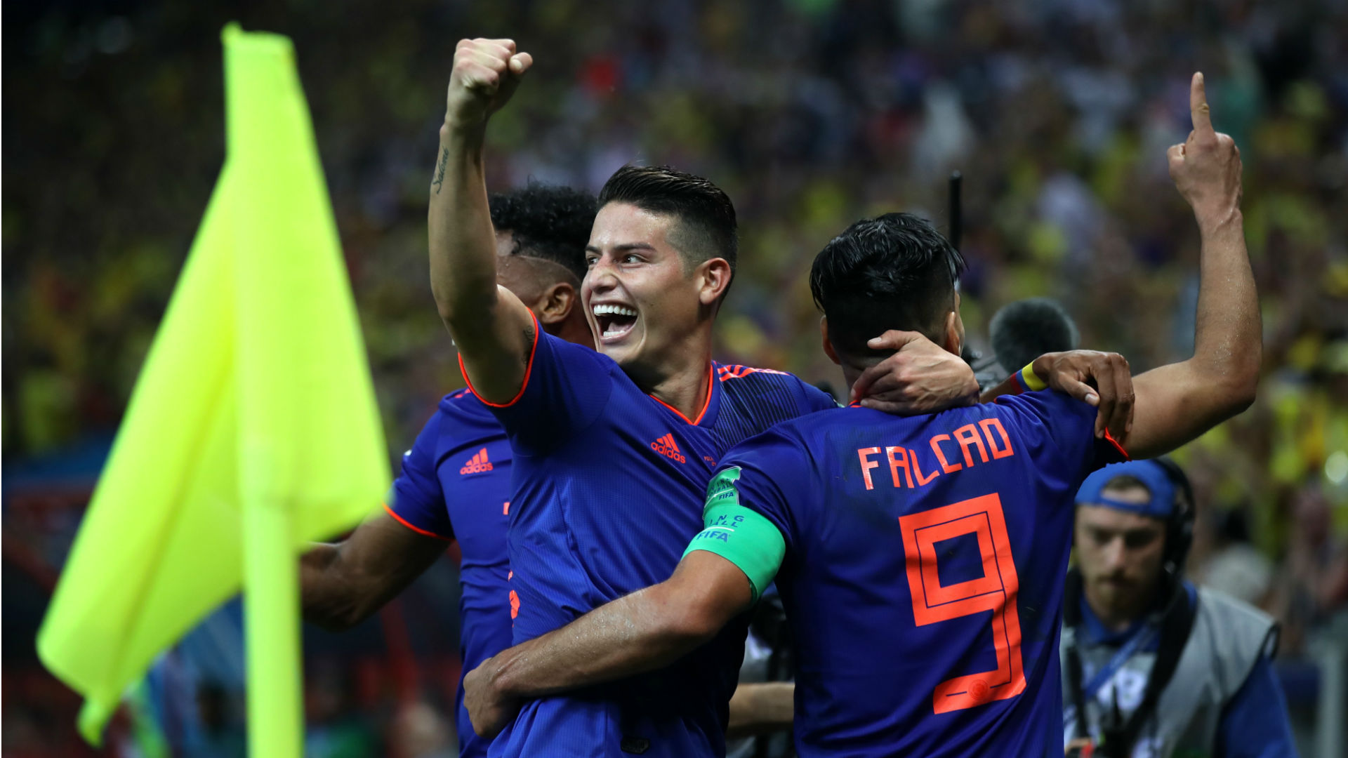 James, Falcao set for Colombia return
