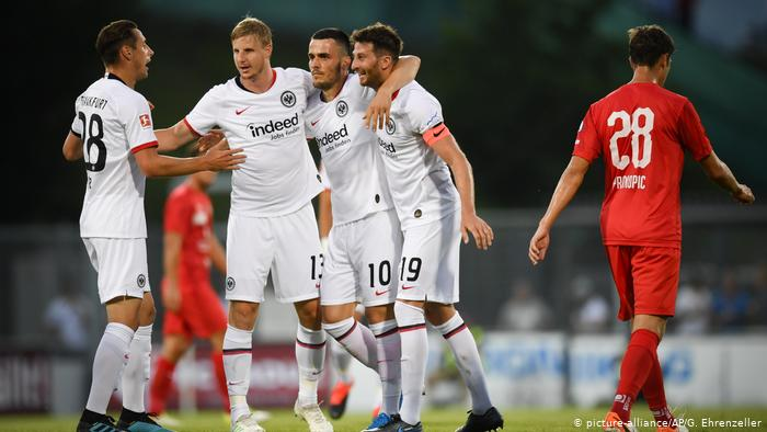 Frankfurt takes first win in new Bundesliga season