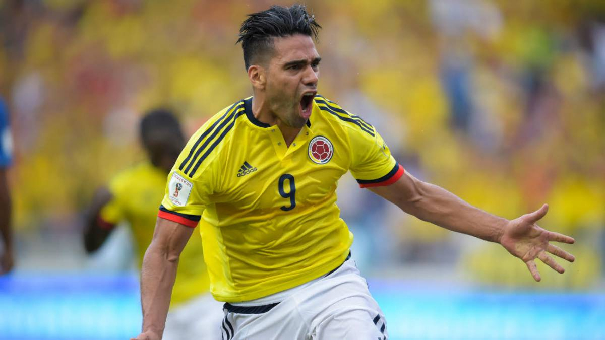 Falcao strikes late to earn draw for Colombia against Chile