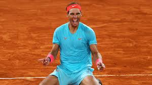 Nadal ties Federer's record of 20 Grand Slam titles with his 13th Roland Garros win