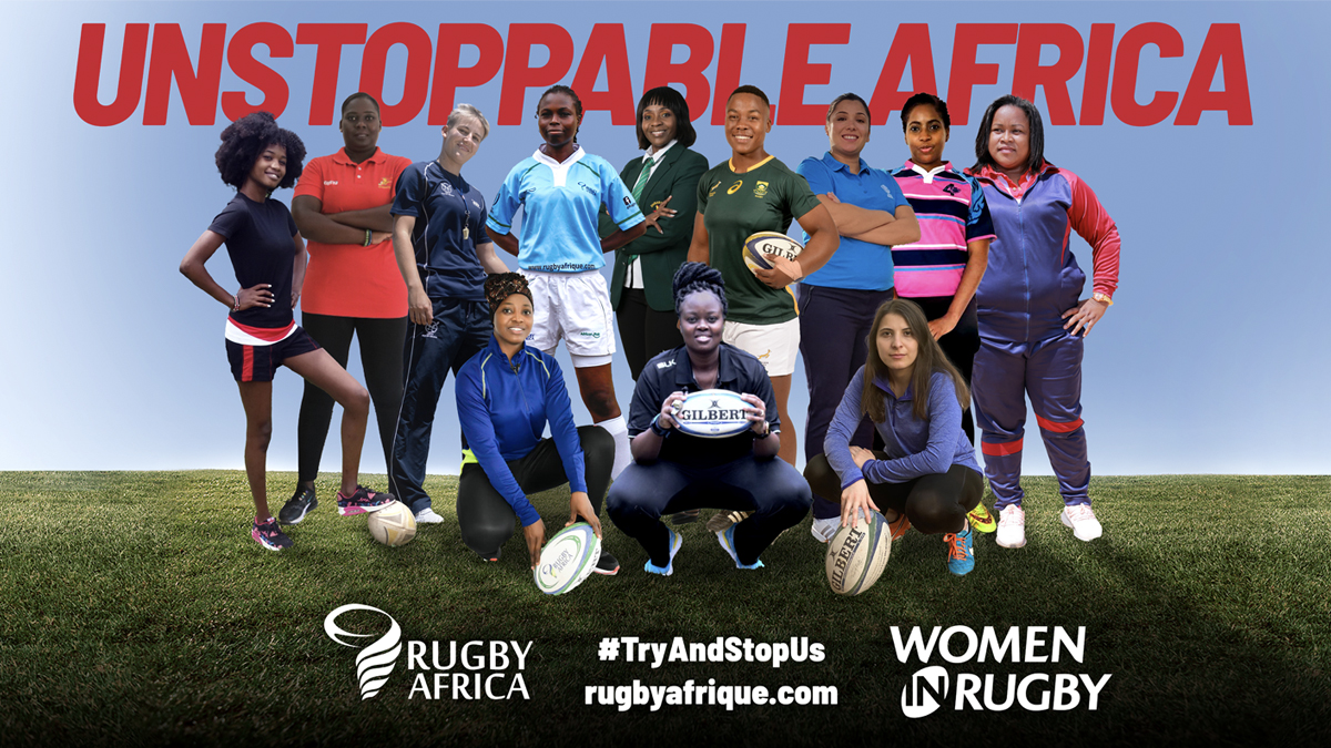 Rugby Africa launches #TryAndStopUs campaign