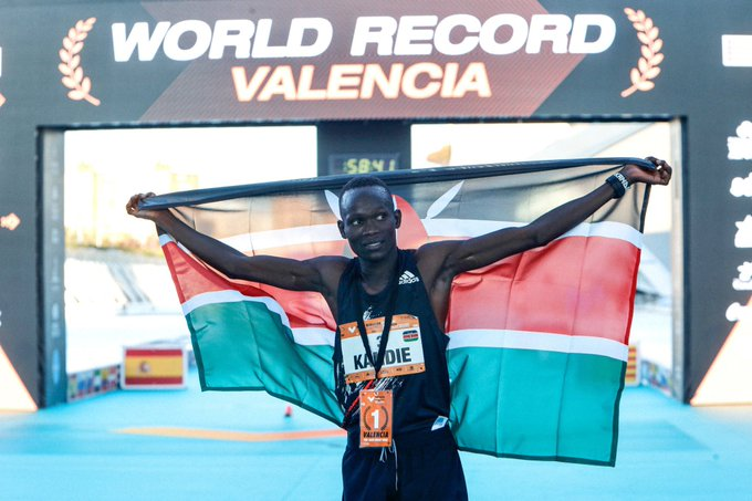 World champion Kandie aims for 10,000m glory in Olympics