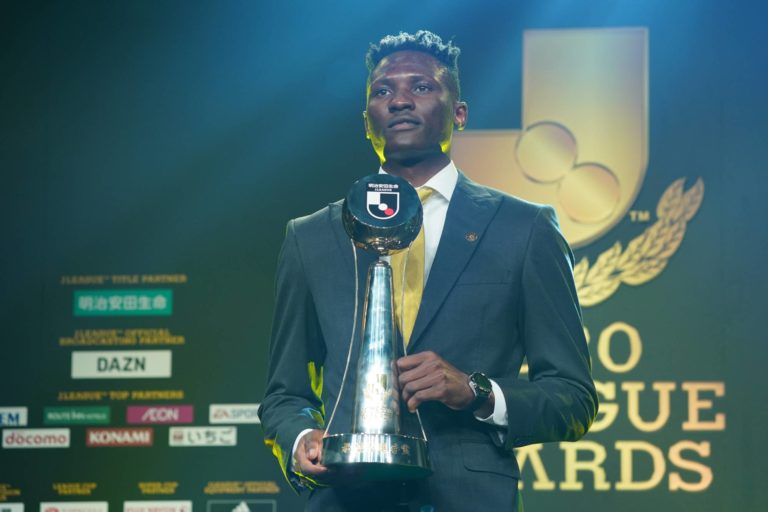 Olunga becomes first African to win J1 League MVP