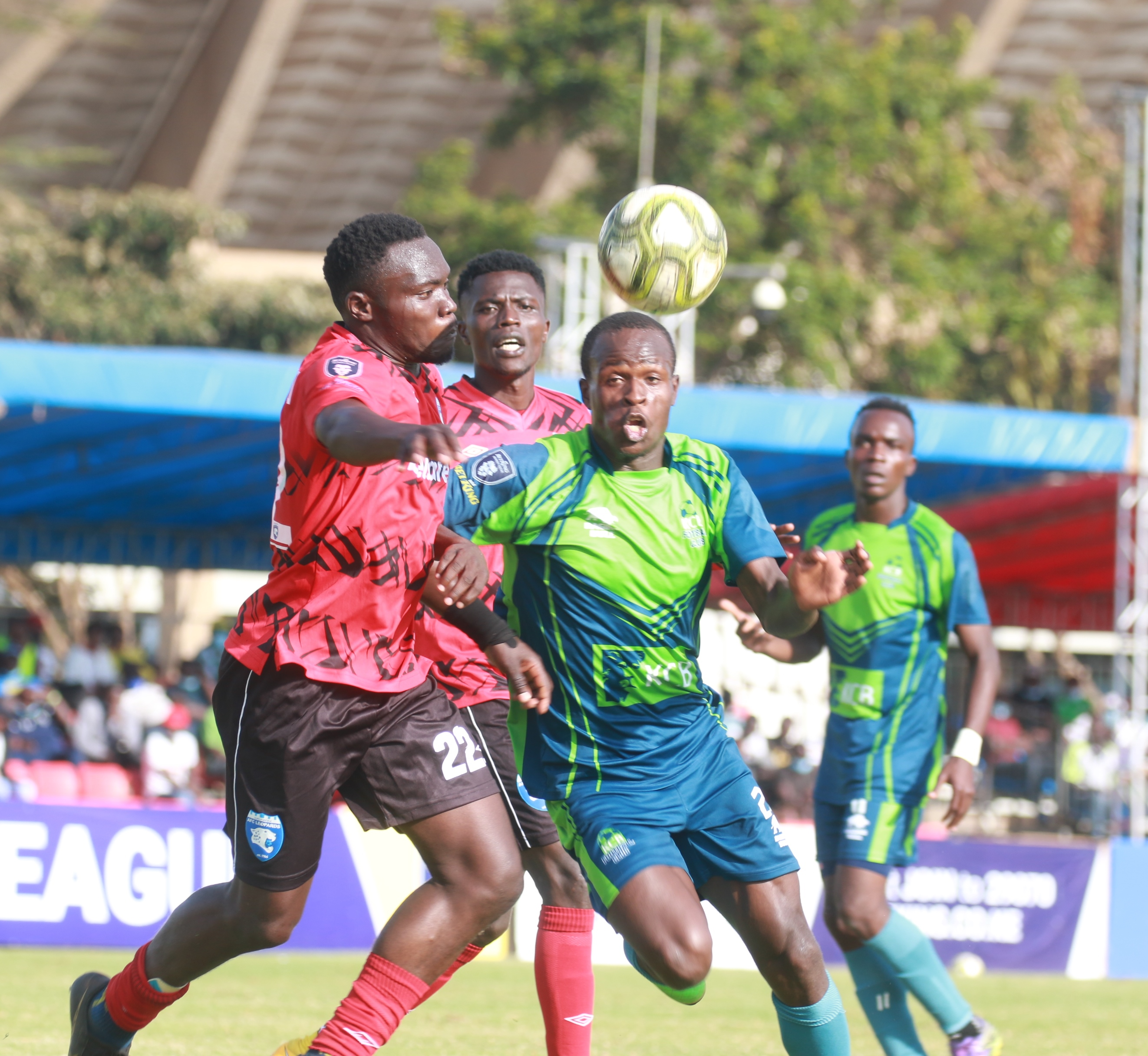 KCB's fine run halted by AFC Leopards