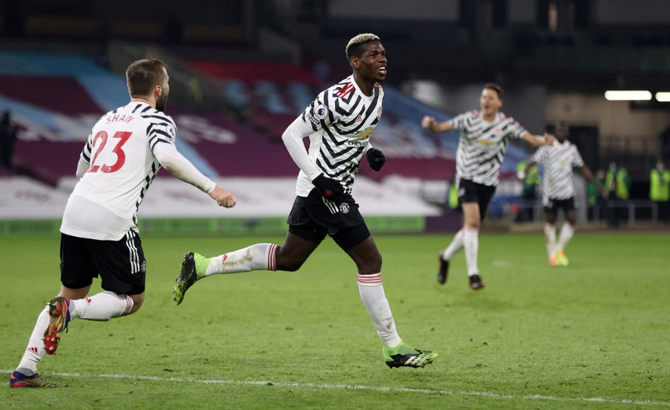Sheffield Utd claim first win, Man Utd go top for first time since 2017