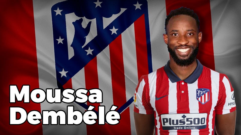 Atletico Madrid sign striker Dembele on loan from Olympique Lyon