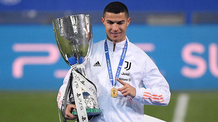 Ronaldo makes history as Juventus win ninth Supercoppa