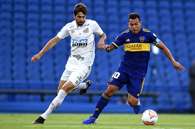 Santos hold Boca Juniors, eye final spot in Copa Libertadores