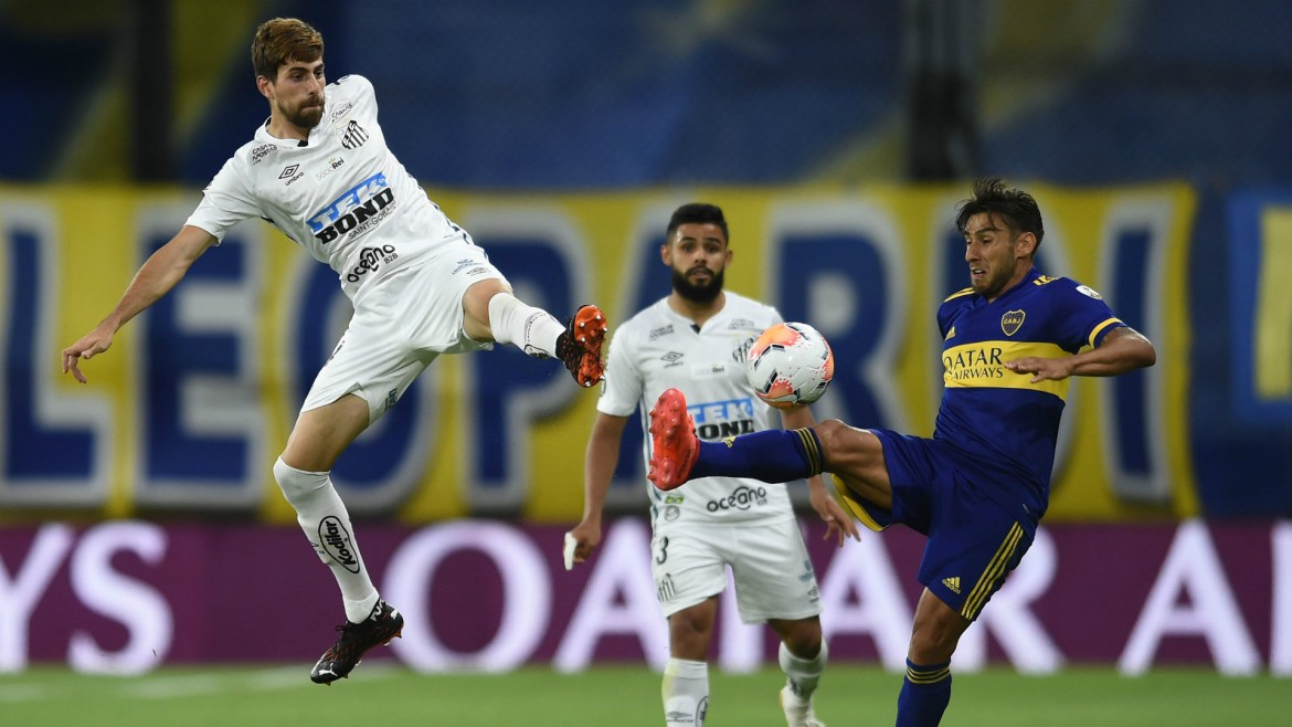 Santos beat Boca Juniors to reach Copa Libertadores final