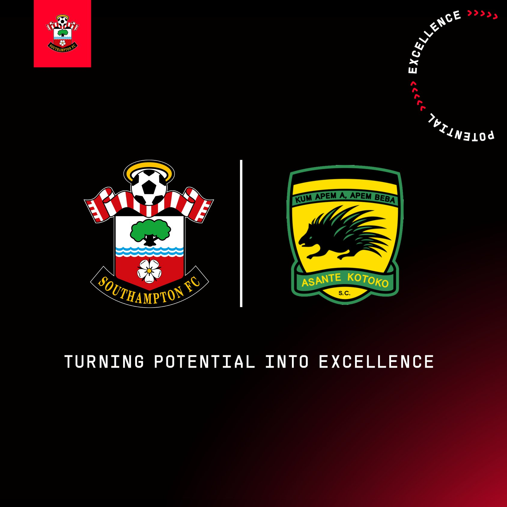 Ghana's Kotoko agrees partnership with Southampton FC