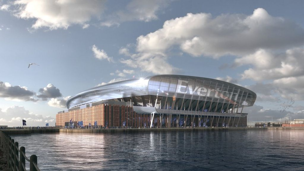 Green light for Everton's new stadium on Liverpool World Heritage Site