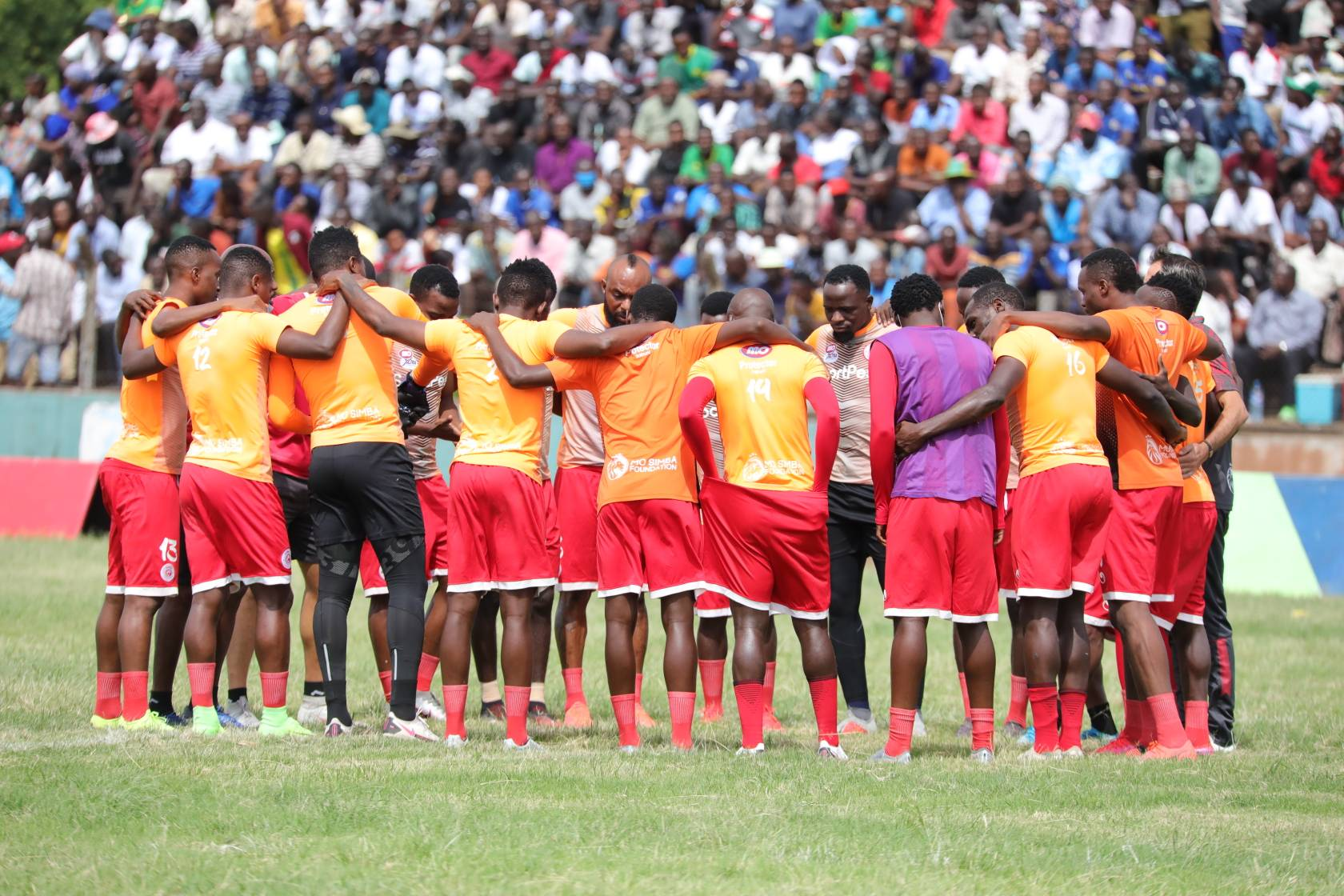 """Simba fans to observe Covid measures during """"Total War"""" clash against Al Ahly"""