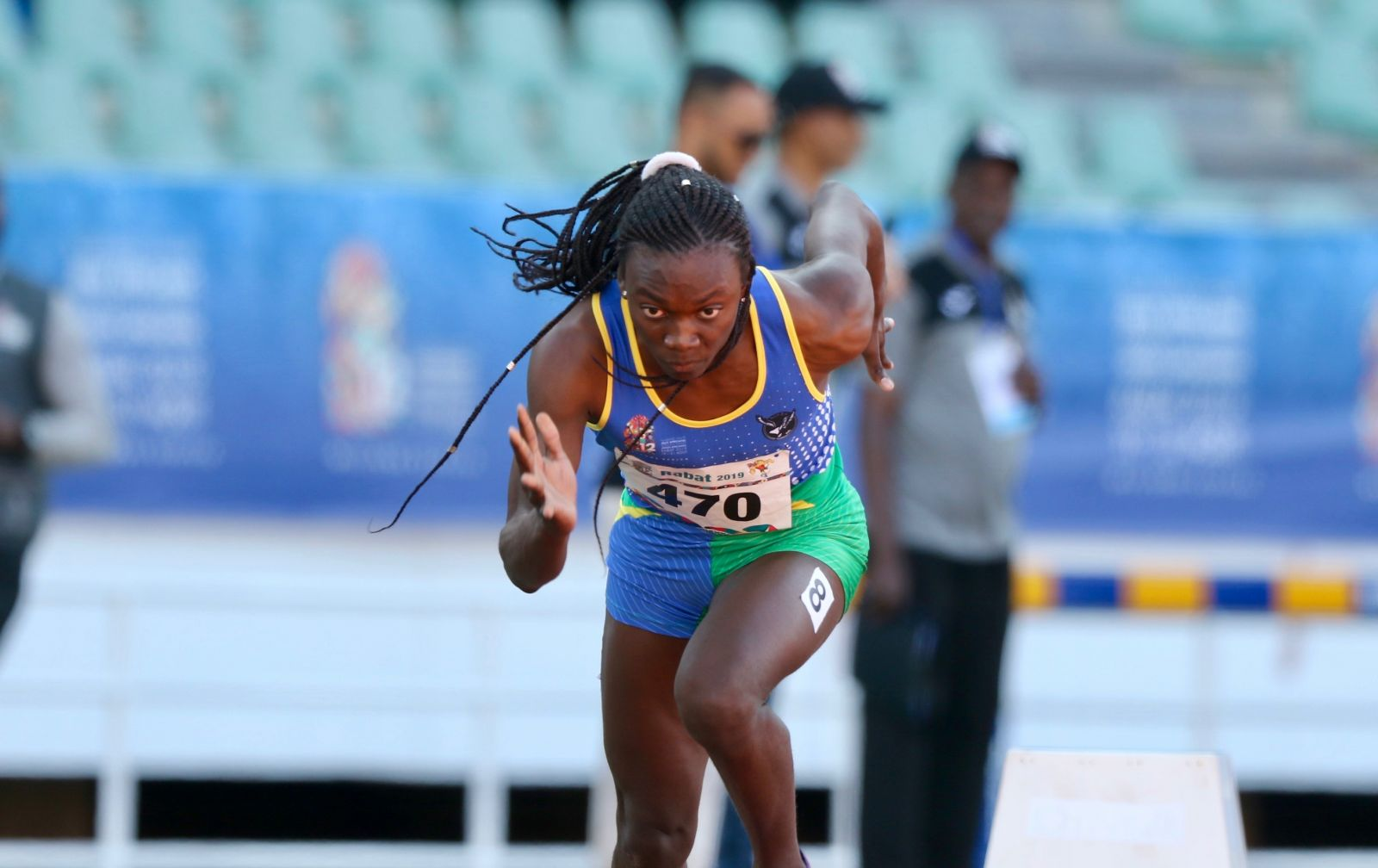 Namibia's teen sensation wins 200m gold in South Africa